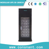 UPS em linha modular do centro de dados com módulo de potência 30kw 3 partes de 380/400/415VAC