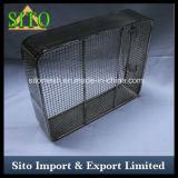 Tejido de acero inoxidable malla de alambre de la cesta, Bandejas de Atención Médica / Cestas