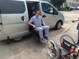120kg 선적을%s 가진 신체 장애자를 위한 휠체어를 가진 드는 시트