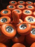 Rotella libera piana della gomma piuma dell'unità di elaborazione del poliuretano solido di qualità