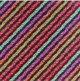Couro artificial do falso colorido do Glitter para sapatas, sacos, mobília, decoração, vestuário (HS-Y98)