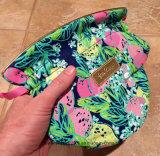 Высокосортное карманн луча мешка ювелирных изделий Lilly Pulitzer сатинировки цветастое