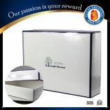 350g blanc Boîte en carton boîte-cadeau avec pelliculage brillant