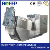 Klärschlamm-entwässerngerät mit Klotz-frei Aufbau Mydl131