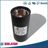 110VAC CD60 elektrolytischer Anfangsaluminiumkondensator