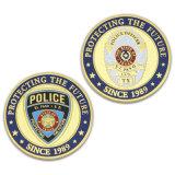 Moneta di sfida del ricordo del premio dell'ufficiale di polizia