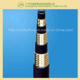 Flexible hydraulique de câble tressé de mine de charbon (602-3B-1-1/4)