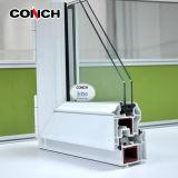 60 여닫이 창 Windows를 위한 Conch PVC/UPVC 단면도