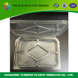 Освободите прикрепленную на петлях пластичную еду примите вне контейнер Clamshell Того