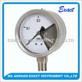 Medidor de pressão anti-explosão - Medidor de pressão frontal sólido - Medidor de pressão de segurança total