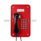 O telefone sem corda do SIP, escava um túnel o telefone sem fio, telefones subterrâneos de VoIP