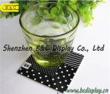 Impressão de papel absorvida quadrado da sagacidade 4c dos Coasters da alta qualidade em ambos os lados, Coasters da cerveja (B&C-G106)