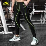 Der Männer trocknen schnell Legging Sportkleidung für Gymnastik