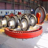 Il rullo di sostegno del forno rotante ha certificato dalla BV, lo SGS, ISO9001: 2008