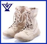 砂漠の軍隊は起動するカーキ色の軍隊のブートの戦闘用ブーツ(SYSG-414)を