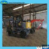 Équipement de construction de route de 5,5 tonne pour la vente d'excavatrice à chenilles