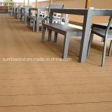 Synthetisches hölzernes zusammengesetztes Decking-Plastikmaterial für WPC Bodenbelag