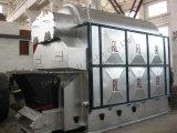 De Boiler van het hete Water met In brand gestoken de Brandstof van de Biomassa Assemblied