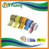 L'alta qualità variopinta adesiva personalizza il nastro stampato dell'imballaggio di BOPP