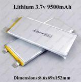 3.7V 6ah Li-Polymeer het Lithium van het Hoge Tarief van de Batterij 3.7V 6000mAh 20A voor 12V 5ah het Hulpmiddel van de Macht van het Pak DIY van de 11.1V6ah Batterij 12.6V