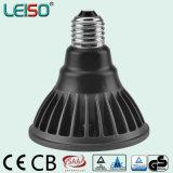 Dimmable E27/E26/B22 80ra/90ra 크리 말은 Scob 특허 Leiso LED PAR30를 잘게 썬다