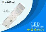 Réverbères de route de DEL 110watt avec la lampe 120degree solaire réglable