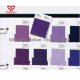 Pantone Fashion interiores Inicio biblioteca de muestras de algodón para Desinger Fhic100