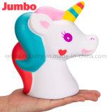 Cheval Jumbo Cute Unicorn pu ralentir la hausse de la décompression Squeeze Décoration jouets pour enfants pour cadeau amusant