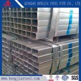 Tubo quadrato d'acciaio galvanizzato Q235B GB/T3091