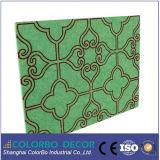 La fibre de polyester, du Conseil acoustique absorbant le son matériel de décoration