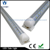 넓은 Beam Angle Vshape 4FT T8 22W LED Cooler Tube Light