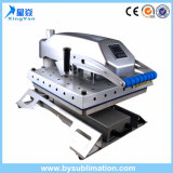 Máquina de imprensa de calor Clamshell oscilantes