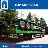 Titan-Fahrzeug - Flachbett40ft Behälter-halb Schlussteil-Versandbehälter-Anlieferungs-Schlussteil
