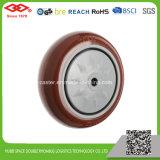 Rotes PU-Fußrollen-Rad (G103-36EC080X32)