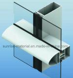 Perfis de alumínio da parede de Curtainer