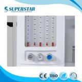 Machine van Anethesia van de Leverancier van de Apparatuur van China de Medische met de Machine S6100A van de Anesthesie van Ventilator