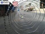 Bto 22 900mm Quertyp schwerer galvanisierter Rasiermesser-Stacheldraht