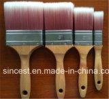 Filamenti di legno dello Synthetic del manico di spazzole del chip della vernice di qualità di Preimium