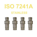 ISO 7241A Euro Coupler Stainless Steel Quick Coupling Factory
