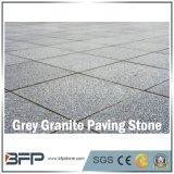 Basalto di pietra naturale, marmo, superficie esterna della pietra per lastricati del granito fiammeggiata