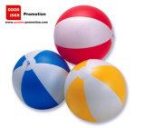 Ballon de plage gonflable en PVC avec le logo du client de l'impression