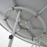antena de plato basado en los satélites primera del foco del 180cm
