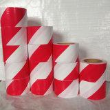 PE de Materiële Barricade Band van de Voorzichtigheid van de Band Rode en Witte