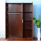 3 de Garderobe van deuren met 1 Vaste Plank en Regelbare Plank 2