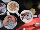 Erstaunliches Digital-Nahrungsmitteldrucken-vollautomatische Kaffee-Maschine