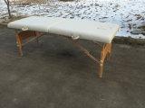 Mesa de massagem em madeira Mt-003