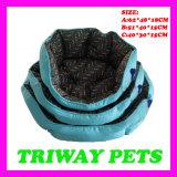 Preiswerte Komfort-Hundekatze-Haustier-Betten (WY161063-1A/C)