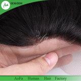 膚触りがよくまっすぐな人間の毛髪の自由な部品13X4のスイスのレースのFrontal