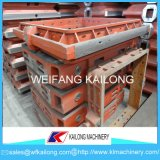 Ligne de moulage de machine moule utilisé pour le matériel de fonderie