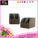 Brown Color PU Leather Make up Stand